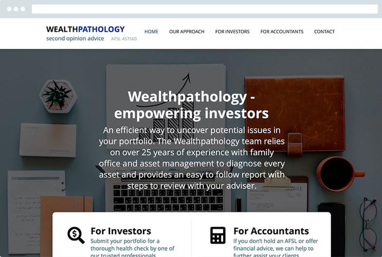 Website Design For Financial Firms