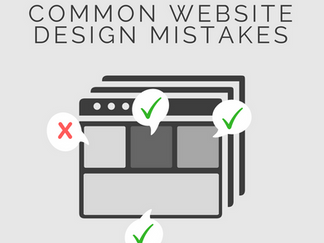 10 Common Web Design Mistakes