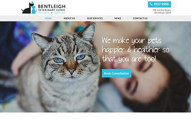 Bentleigh Vet Clinic - Wix Pro Designer