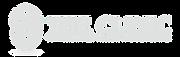 The Clinic logo white