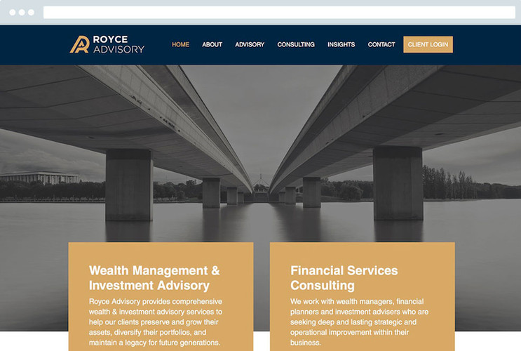 Graphic Design For Financial Services