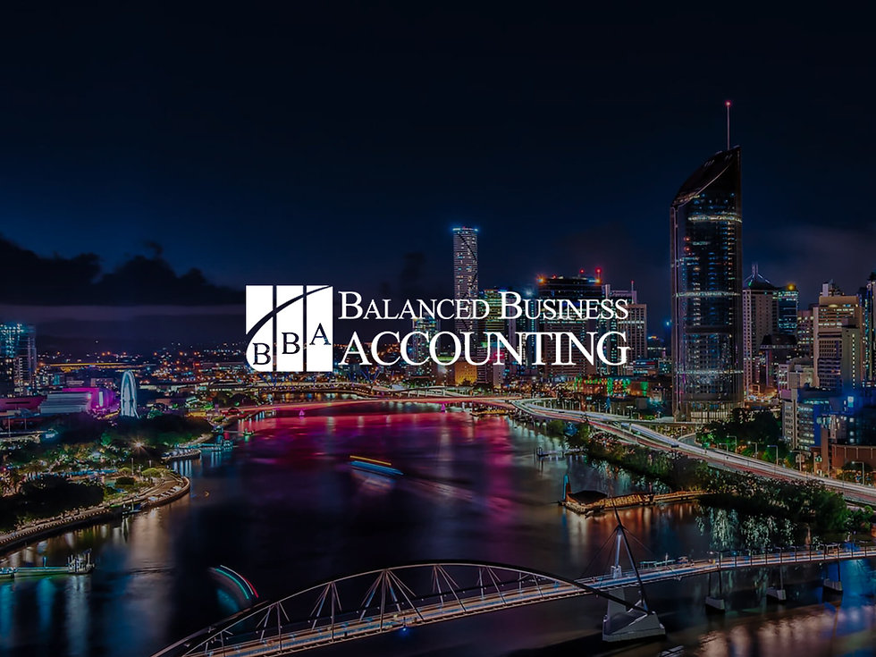 Balanced Business Accounting financial website made by Capital Design