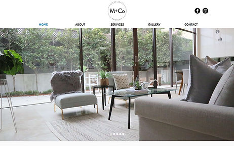 M+Co Property - Wix Pro Designer