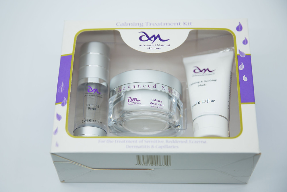 Calmning Treatment Kit for natural beauty treatments at home