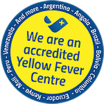 Yellow fever vaccination from an accredited yellow fever centre