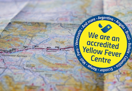 We are an accredited Yellow Fever Centre
