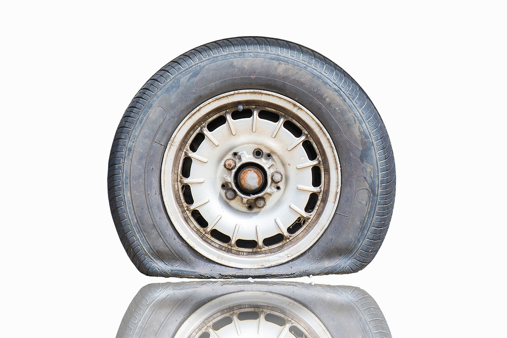 common cause of tyre damage | Double-D Tyres