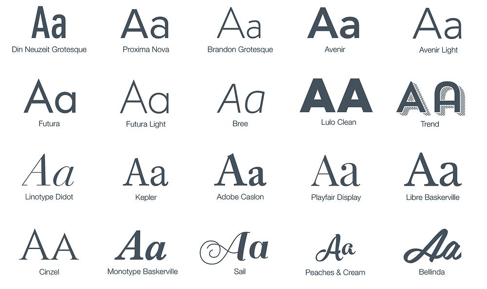 20 New WIX Fonts