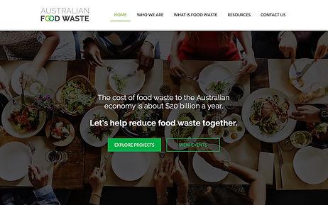 Australian Food Waste - Wix Pro Designer