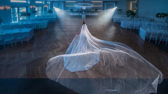 Bride In Ballroom | Meadowbank Estate | Wedding Venue | Campbellfield
