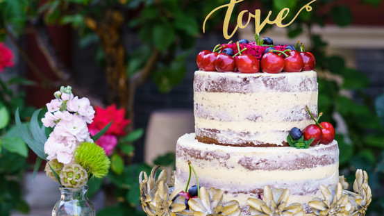 Beautiful Wedding Cake | Meadowbank Estate | Wedding Venue | Campbellfield