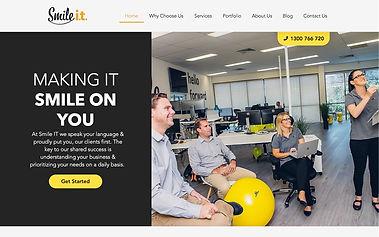 Smile IT - Wix Pro Designer