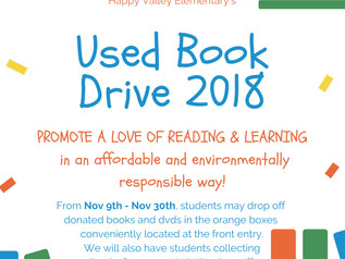 Used Book Drive