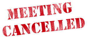 HV PTA Jan Meeting Cancelled!