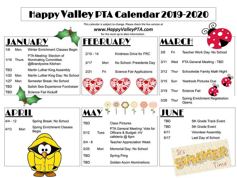 Copy of 2019-20 Calendar - 2nd Half.pptx