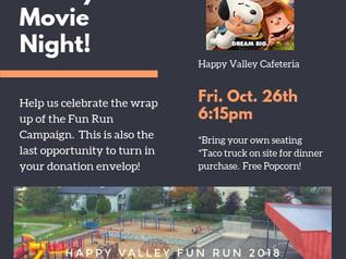 Fun Run Celebration Movie Night