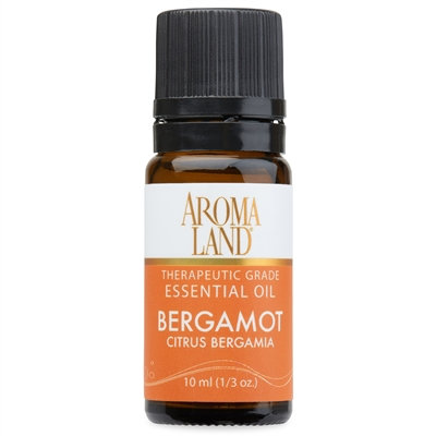 BERGAMOT ESSENTIAL OIL 10ML. (1/3OZ.)