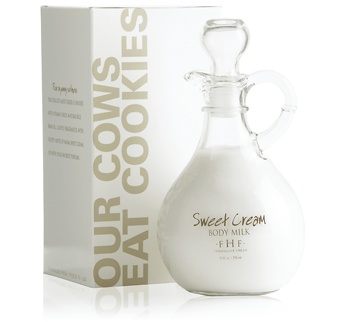 Sweet Cream Body Milk Lotion - Decorative Cruet 10oz