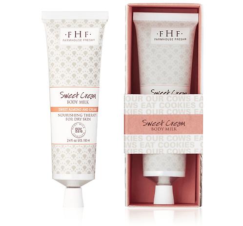 Sweet Cream Body Milk Travel