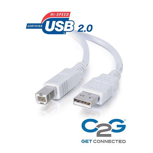 C2G バージョン2.0 USBケーブル(白)