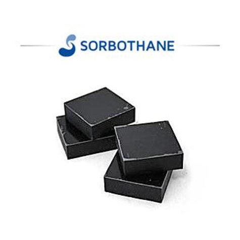 3センチ角 ソルボセイン 4枚セット(粘着テープなし・黒色)