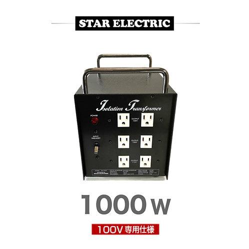 プロケーブル製 アイソレーション電源トランス 1000W・100V仕様