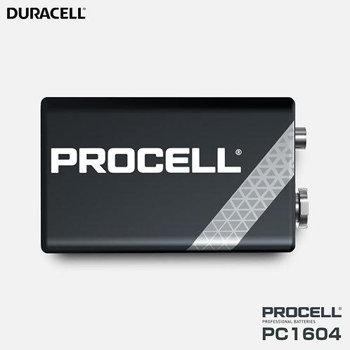 超高性能アルカリ9V乾電池 DURACELL PC1604