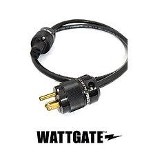 プロケーブル製(WATTGATE)シールド電源ケーブル 黒色プラグ