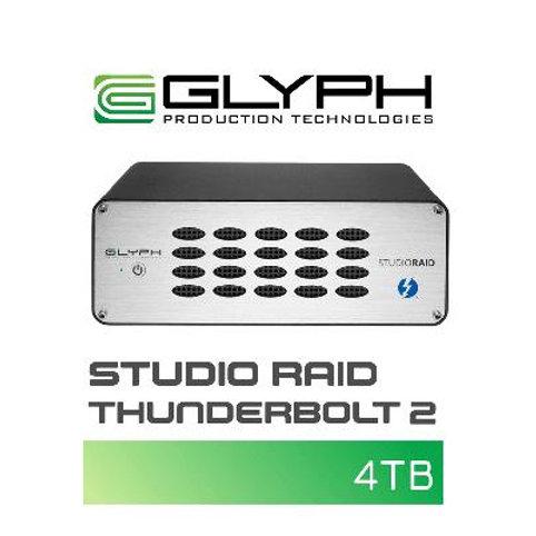 外付けハードディスク GLYPH Studio Raid Thunderbolt 2(4TB)