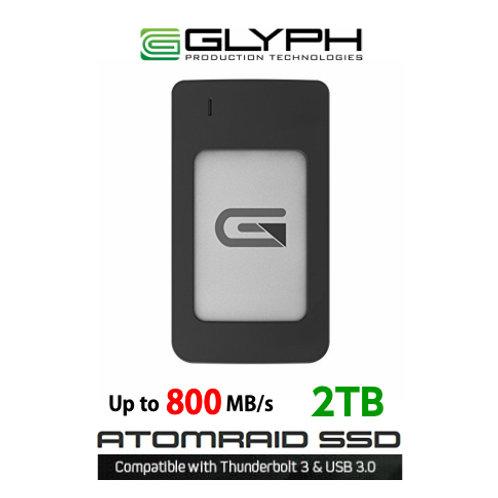 モバイルSSD GLYPH Atom RAID SSD 2TB