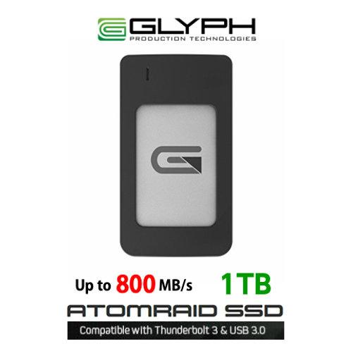 外付けハードディスク:GLYPH ATOM RAID SSD 1TB