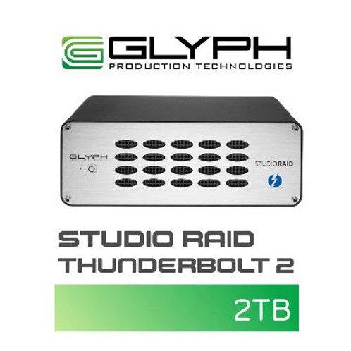 外付けハードディスク GLYPH Studio Raid Thunderbolt 2(2TB)