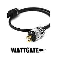 プロケーブル製(WATTGATE)シールド電源ケーブル 透明プラグ