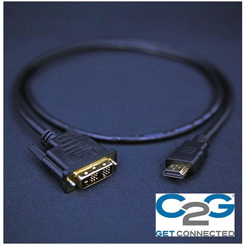 米国C2G社 DVIーHDMI 変換ケーブル