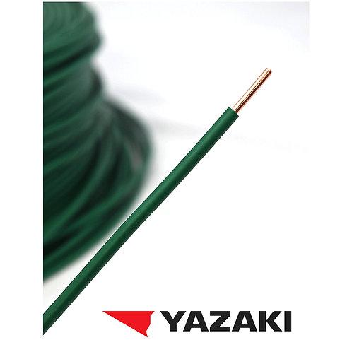 アース線 緑色 2.0mm(YAZAKI製)