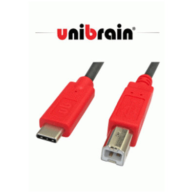 unibrain製! USB Type-C to Type-B 2.0 変換ケーブル