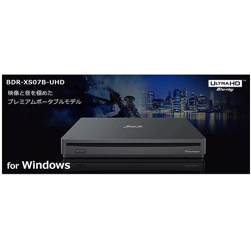 パイオニア製ブルーレイドライブ BDR-XS07B-UHD (Windows 用)