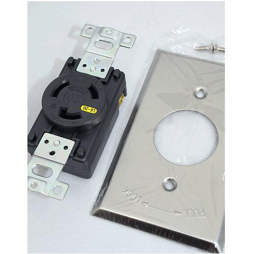 200V用トランス専用壁コンセント(L6-20規格)