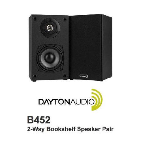 小型スピーカー Dayton Audio B452