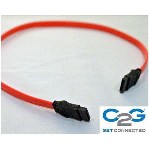 C2G シリアルATAケーブル ストレートーストレート(赤色)