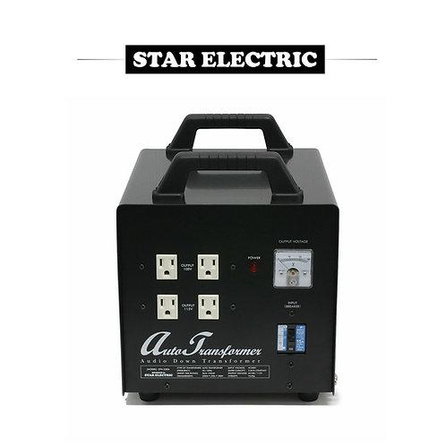 スター電器 3000W ダウントランス コンセント16個
