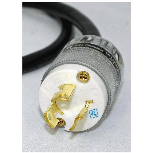 プロケーブル製 200V用シールド電源ケーブル(L6-15規格)