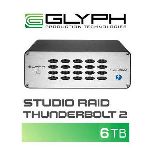 外付けハードディスク GLYPH Studio Raid Thunderbolt 2(6TB)