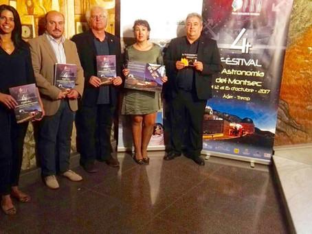 Més de 3.500 persones participaran en l'IV Festival d'Astronomia del Montsec, amb activitats de