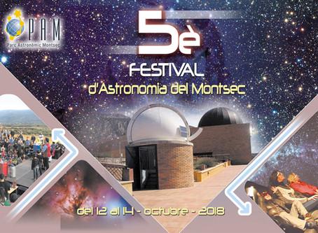 Programa del 5è Festival d'Astronomia del Montsec