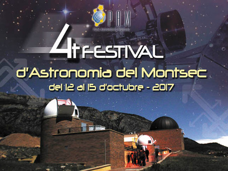 Programa del 4t Festival d'Astronomia del Montsec