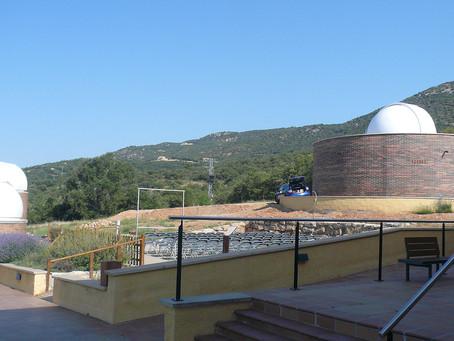 """El Parc Astronòmic Montsec (PAM) Engega el primer """"OBSERVATORI-AULA"""" d'Europa que permet observa"""