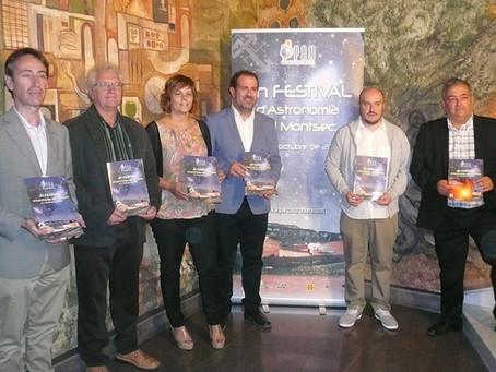 Prop de 2.000 persones participaran en el II Festival d'Astronomia del Montsec, amb activitats d