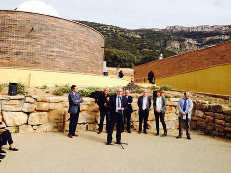 Astrònoms reunits en el bateig del telescopi Assumpció Català, del PAM, reclamen la importància del