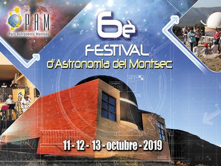 Programa del 6è Festival d'Astronomia del Montsec